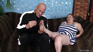 BBW in adult scenes of resemble pussy sex