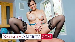 Naughty America - Lexi Luna gives pupil a helping render unnecessary