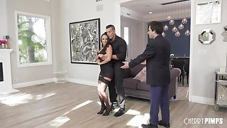 Dance instructor fucks wife in front of miserable hubbie