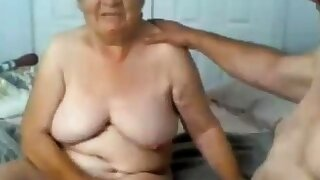 Granny and grandpa naked first of all cam