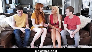 Two Hot Cougar Law Moms Lauren Phillips & London Scallop Swap Enjoyment from Their Step-sons - Teaser