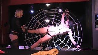 Kinky Anaal met Khloe en Noir