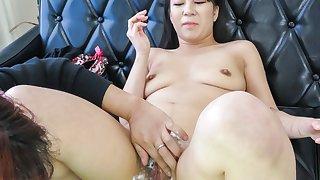 Fabulous Japanese chick Saya Fujimoto in Incredible JAV uncensored Hairy video