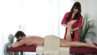 Alison Rey feels like working with this client's big cock