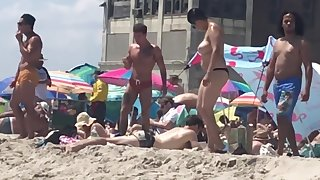 Rockaway Beach Fort Tilden NY Voyeur Beach Tits 2019