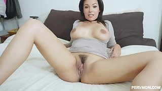 In front she gets fucked by her friend Danica Dillon sucked his cock