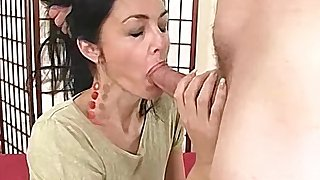 Amateur MILF has their way parsimonious hole stuffed by a big cock