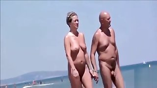 Nude Beach - Hot Public Sexual connection