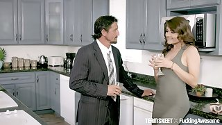 Sexy kept woman Adria Rae does everything her sugar daddy desires