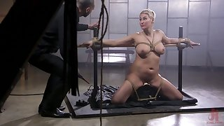 Short haired mart MILF Ryan Keely deserves some hardcore BDSM intrigue b passion today