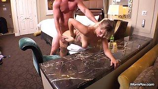 Sexy mommy Haylee hardcore porn clip