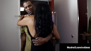 Nuisance Fucked Asian Milf Maxine-X Is Butt Banged By Black Cock!