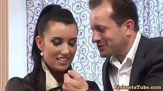 Euro Pizazz Nub Sex - HD hardcore video with cumshot