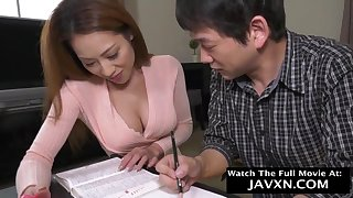 Perfect Japanese Mommy Plus Stepson Studyi - HD video
