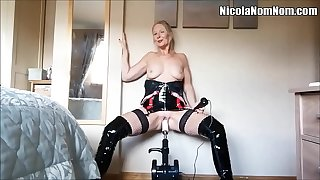Homemade Amateur Mature Join in matrimony Fucking Machine Compilation
