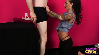 Tattooed pornstar Alexis Rose knows how to pleasure a stiff learn of