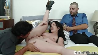 Do The Wife - Devoted to Women Get Licked Next to Their Hubbies Compilation