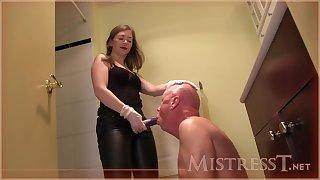 Mistresst - Ass Round Mouth Humiliation